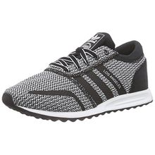 adidas Originals Damen Los Angeles Sneaker, Schwarz (Core Black/Core Black/FTWR White), 36 2/3 EU