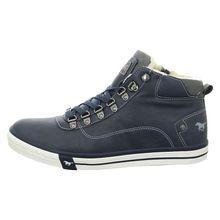 MUSTANG Sneakers High 4103601 blau Herren