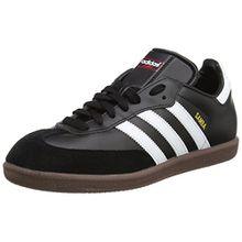 adidas Samba, Unisex-Erwachsene Sneaker, Schwarz (Black/running White Footwear), 39 1/3