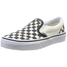 Vans CLASSIC SLIP-ON, Unisex-Kinder Sneakers, Mehrfarbig ((Checkerboard) EO1), 27 EU