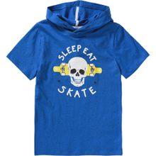 LEMON BERET T-Shirt blaumeliert / gelb / weiß
