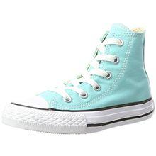 Converse Unisex-Kinder CTAS Hi Canvas Seasonal Hohe Sneaker, Türkis (Light Aqua), 30 EU