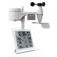 BRESSER Wetterstation »XXL Wetter Center JC mit 5-in-1 Außensensor«
