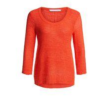 Sommerlicher Pullover aus Bändchengarn