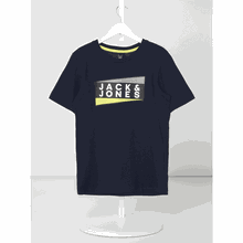 T-Shirt aus Bio-Baumwolle mit Logo-Print Modell 'Oshaun'