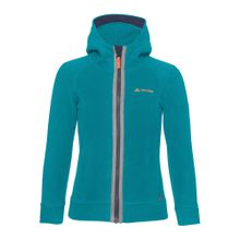 VAUDE Fleecejacke 'Cheeky Sparrow' pastellblau / graumeliert / orange