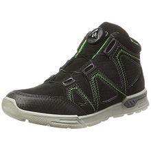 Ricosta Unisex-Kinder Rocco Hohe Sneaker, Schwarz, 00034 EU