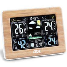 ADE Wetterstation mit DCF-Funkuhr und Außensensor WS 1703, Im Überblick – alle wichtigen Wetterinformation stets im Blick
