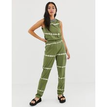 Noisy May - Willow - Jumpsuit in Batik - Gelb