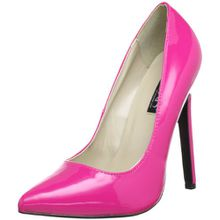 Pleaser Devious SEXY-20 Damen Pumps, Pink (Hot Pink Pat), EU 38 (UK 5) (US 8)
