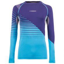 La Sportiva - Artic Long Sleeve - Laufshirt Gr L;M;XL türkis/lila/blau;orange