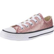 CONVERSE Sneaker im Glitzer-Look 'All Star OX' rosegold