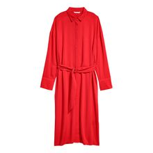 H & M - Blusenkleid - Red - Damen