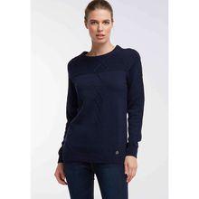 Dreimaster Pullover blau Damen