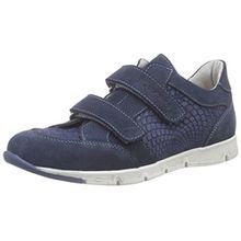 Däumling Jana - Julia, Unisex-Kinder Sneakers, Blau (Turino tiefsee46), 32 EU