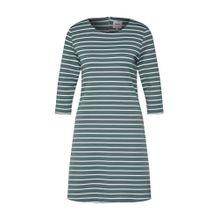 ONLY Kleid grün / weiß