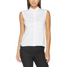 Seidensticker Damen Fashion-Bluse O. Arm Weiß (Optical White 1), 42