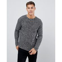 Only & Sons - Gerippter Pullover - Blau