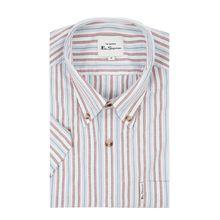 Regular Fit Freizeithemd aus Oxford mit kurzem Arm