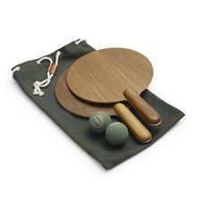 Skagerak - Beach Tennis-Set, Teak