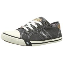 Mustang 5803-305-2, Unisex-Kinder Sneakers, Grau (2 grau), 33 EU