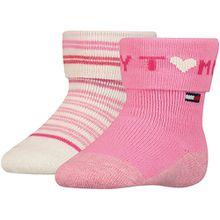 Baby Socken Doppelpack  pink Mädchen Kleinkinder