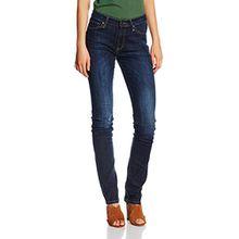 Cross Jeans Damen Hose Anja, Blau (Dark Blue Used 077), W34/L36 (Herstellergröße: 34)