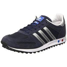 adidas Unisex-Kinder La Trainer Junior Sneakers, Blau (Leg/Silv), 39 1/3 EU (6 UK)
