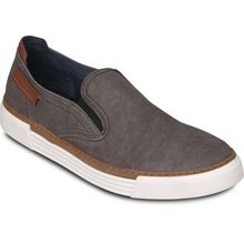 Camel Active Leinenslipper -RACKET grau