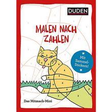 Buch - Duden Mitmach-Mini: Malen nach Zahlen
