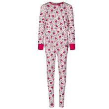 Skiny Pyjama mischfarben / himbeer