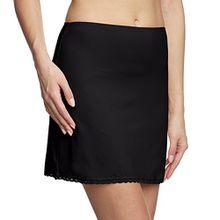 Calida Damen Unterwäsche - Unterrock, Einfarbig, Gr. 42 (Herstellergröße: S 40/42), Schwarz (schwarz 992)