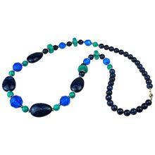 Simone Erto Halskette Kacy Halsketten blau Damen