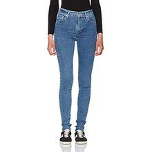 Levi's Damen Jeans Mile High Super Skinny, Blau (Cast Away 31), W29/L34