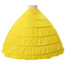 Petticoat Reifrock Unterröcke Damen Lang Fur Brautkleid Hochzeitskleid Vintage Crinoline Underskirt.