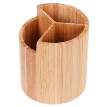 GRÄWE® Aufbewahrungsbox Bambus rund natur