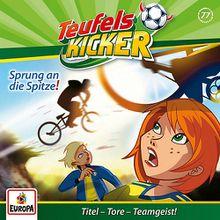 CD Die Teufelskicker 77 - Sprung an die Spitze! Hörbuch