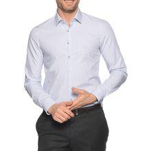Calvin Klein Hemd Slim Fit in blau für Herren