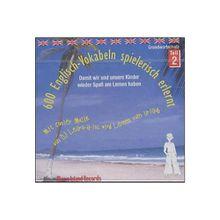 Buch - 600 Englisch-Vokabeln spielerisch erlernt, 1 Audio-CD
