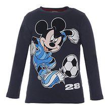Disney Classics Jungen Langarmshirt 74002, Blau (Dunkelblau 797), 116