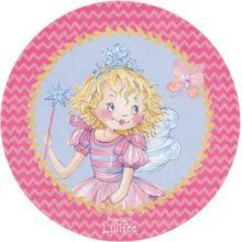 Kinderteppich Prinzessin Lillifee, rund, 100 cm mehrfarbig