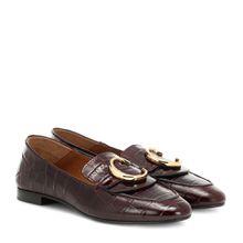 Loafers Chloé C aus Leder