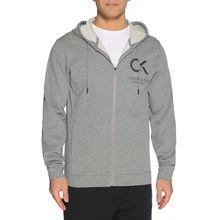 Calvin Klein Performance Sweatjacke in grau für Herren