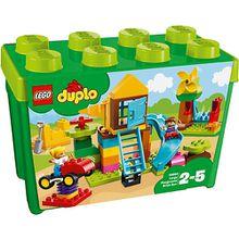 LEGO 10864 DUPLO: Steinebox mit großem Spielplatz