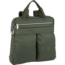 Kipling Rucksack / Daypack Komori S Transformation Rich Green (13 Liter)