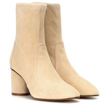 Ankle Boots Margot 75 aus Veloursleder
