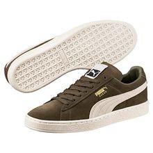 Puma Unisex-Erwachsene Suede Classic + Sneaker, Grün (Olive Night-Birch), 47 EU