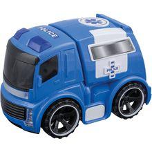 Idena Polizeiwagen mit Antrieb, Licht und Sound