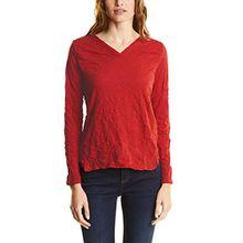 Street One Damen Langarmshirt 311574, Orange (Baked Orange 11083), 42