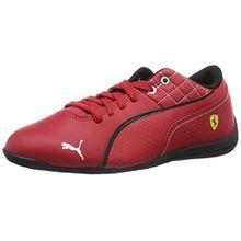 Puma Drift Cat 6 L SF Jr, Unisex-Kinder Sneakers, Rot (05 rosso corsa-rosso corsa-black), 34 EU (1.5 Kinder UK)